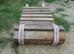 деревянный тротуар